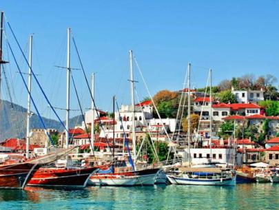 Beautiful city Marmaris
