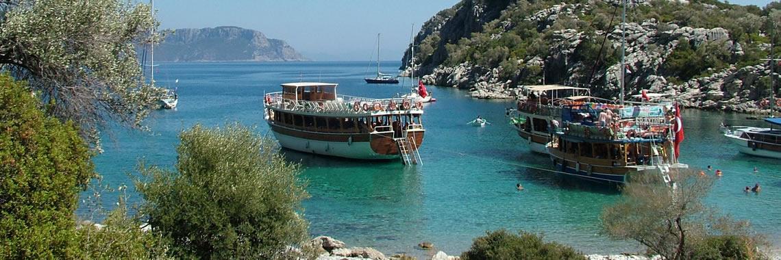 Marmaris Lazy-Day Boat Trip
