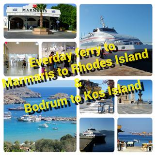 Marmaris Rhodes Island Ferry Line